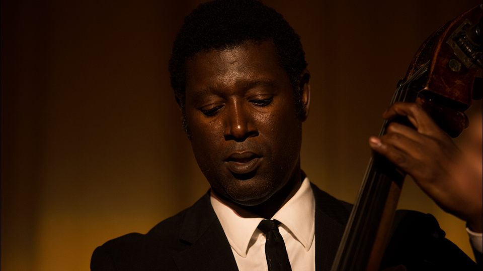 Marcus Shelby Quartet perform live onstage after the screening of Body and Soul